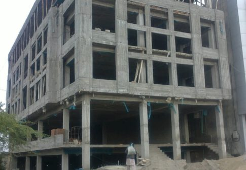 A commercial project in Mirpur