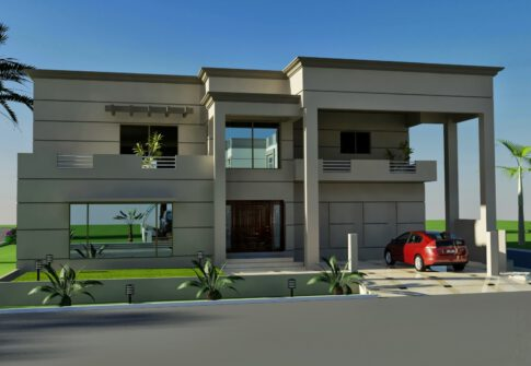 House design in DHA Phase 2